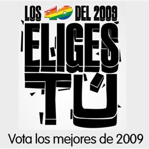Votaste y asi quedó el ranking de 'los 40 del 2009'