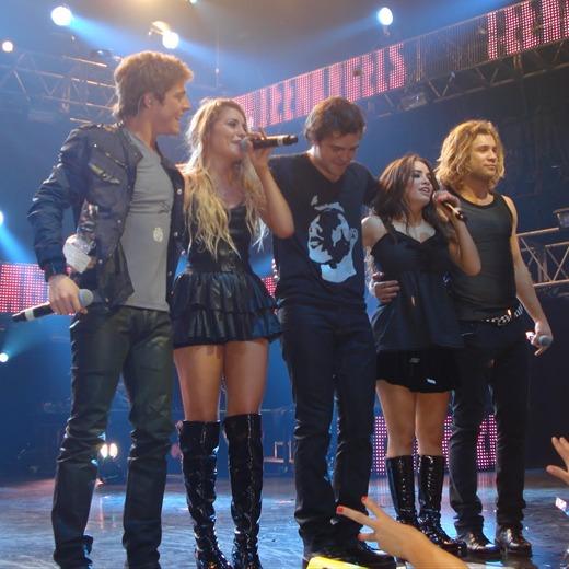 Debutaron los Teen Angels