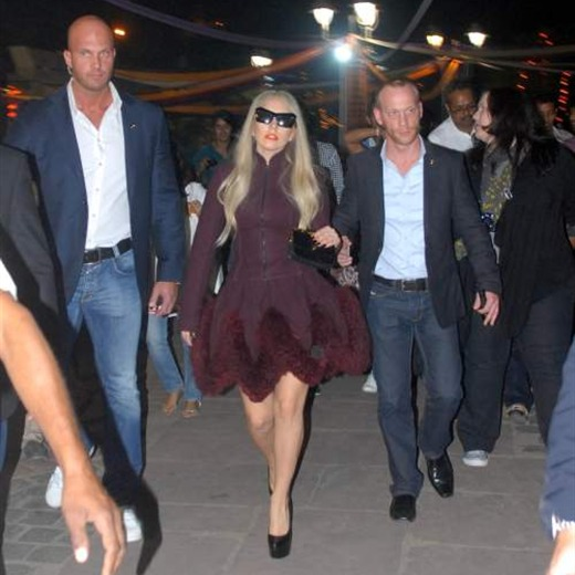 Lady Gaga de compras