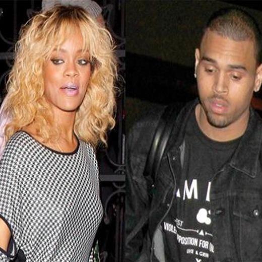 Rihanna graba junto a Chris Brown