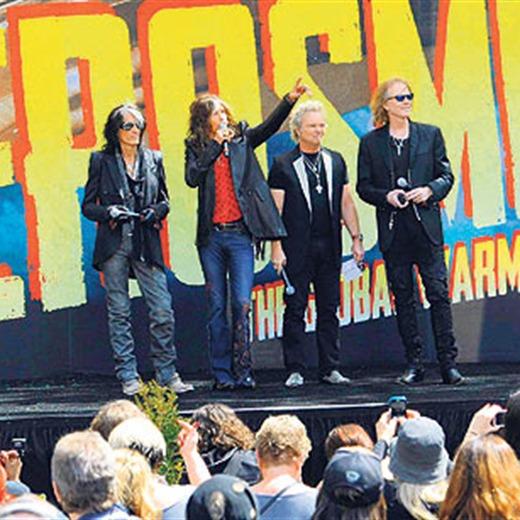 Lo nuevo de Aerosmith