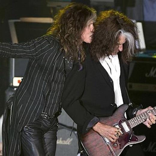 El reconocimiento para Aerosmith