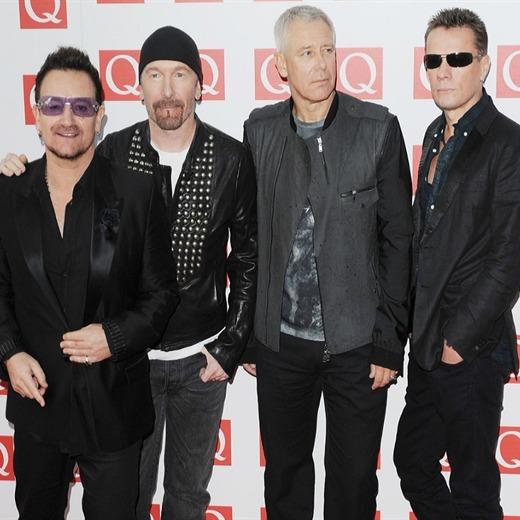 U2 en el estudio