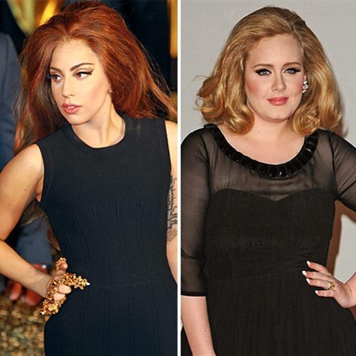 Un dúo de lujo: Gaga y Adele