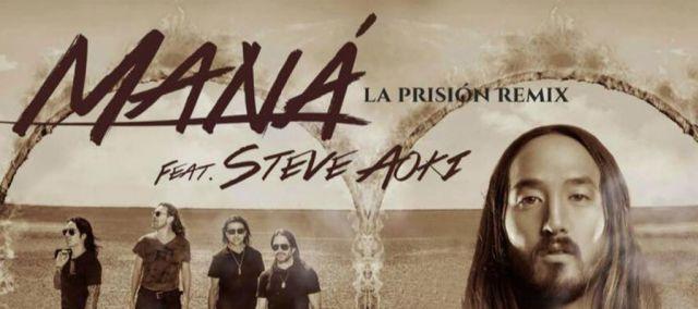 Maná se junta con Steve Aoki