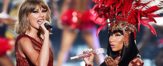 Taylor Swift aprendió a no meterse con Nicki Minaj