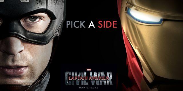 Capitan América vs Iron Man