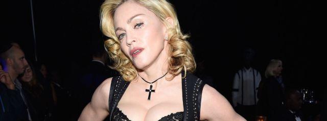 ¿Madonna se hizo pasar por policía?