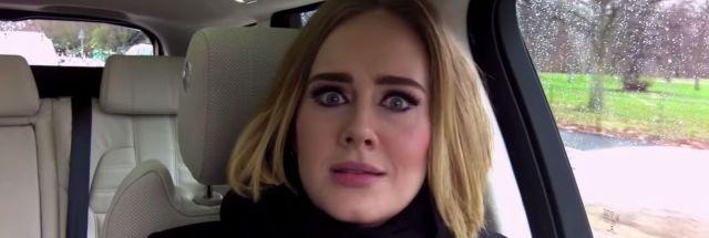 Adele twerking