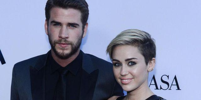 Miley Cyrus & Liam Hermsworth
