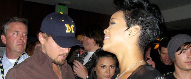 Rihanna & Leo DiCaprio