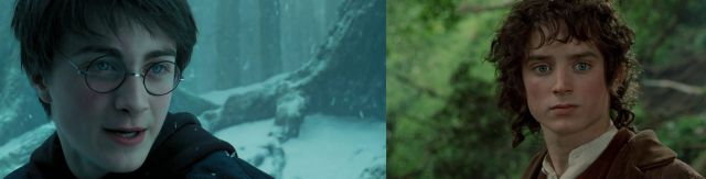 ¡Daniel Radcliffe y Elijah Wood son iguales!