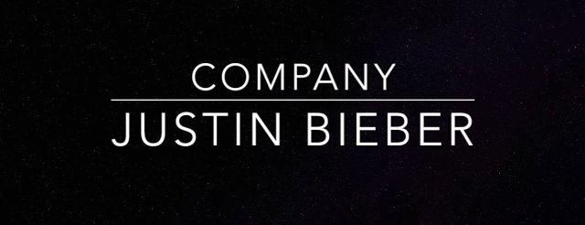 "Justin Bieber estrena ""Company"""