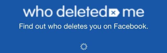 Averiguá quién te eliminó de Facebook!