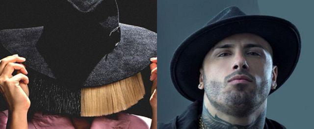 Así suena Sia junto a Nicky Jam