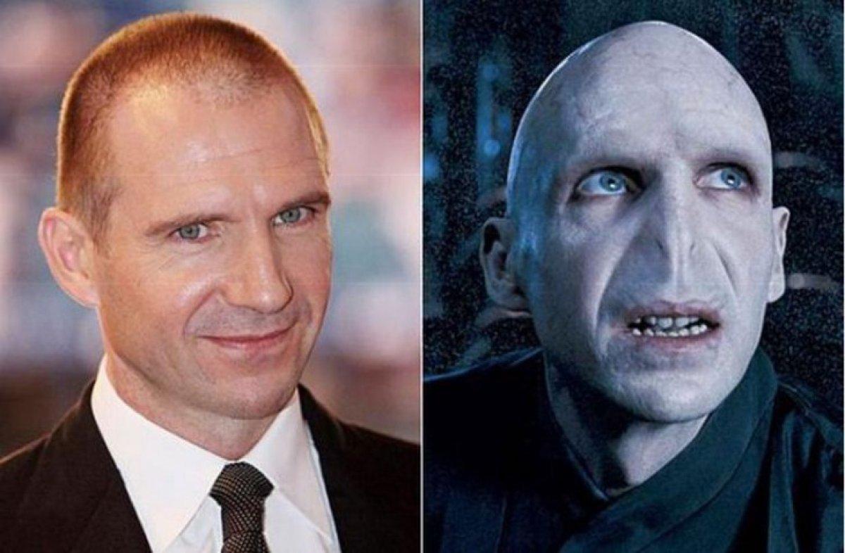 Ralph Fiennes y su Voldemort de la saga Harry Potter