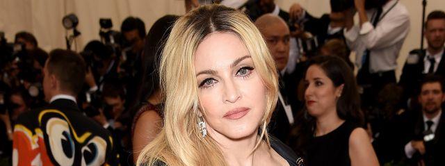 ¿Dónde está Madonna?