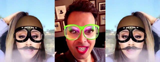 Ariana Grande la rompe en Snapchat