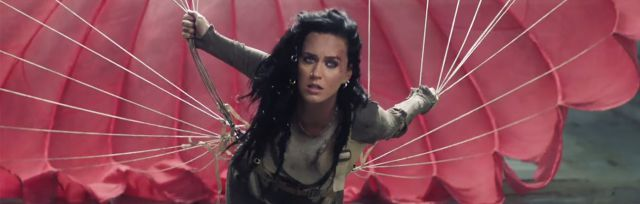"Katy Perry presentó el video de ""Rise"""
