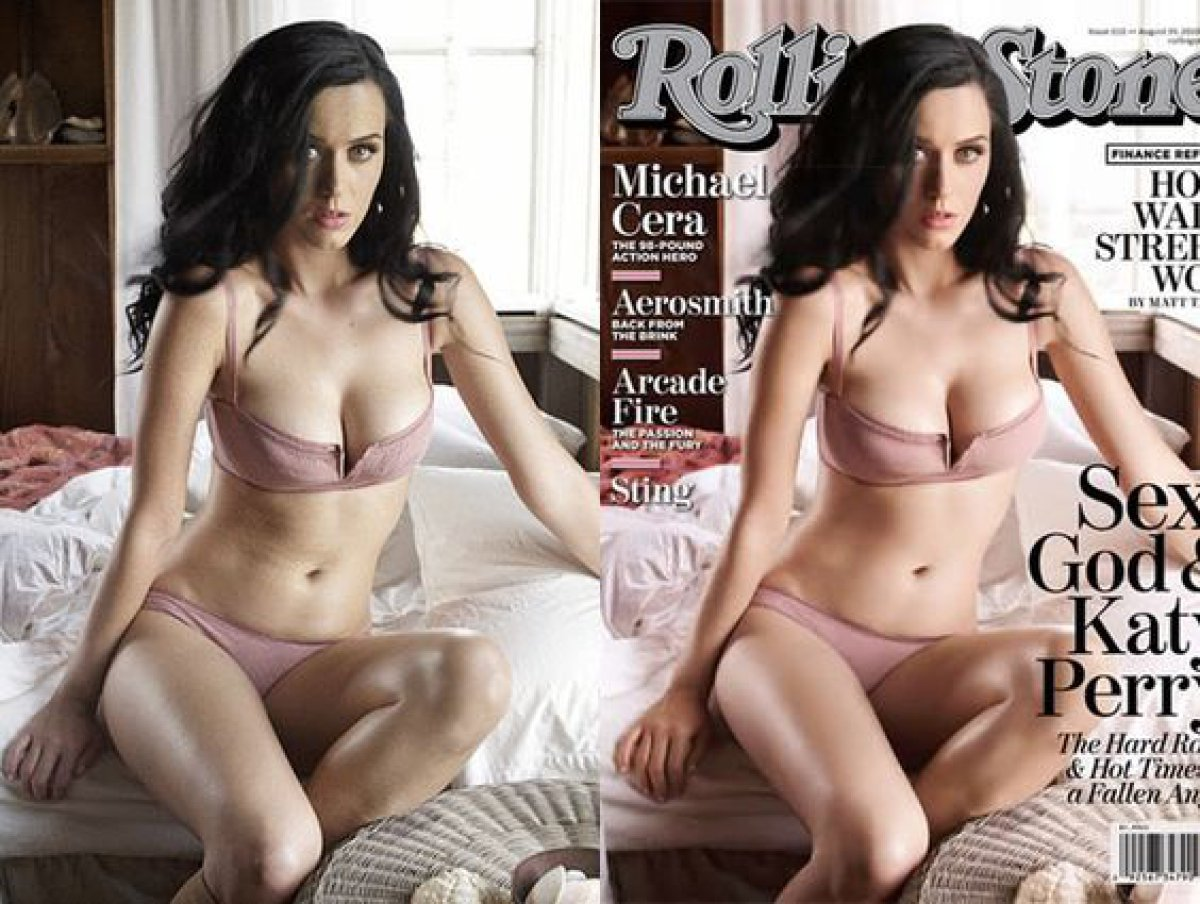 Estas celebrities exageraron con el photoshop