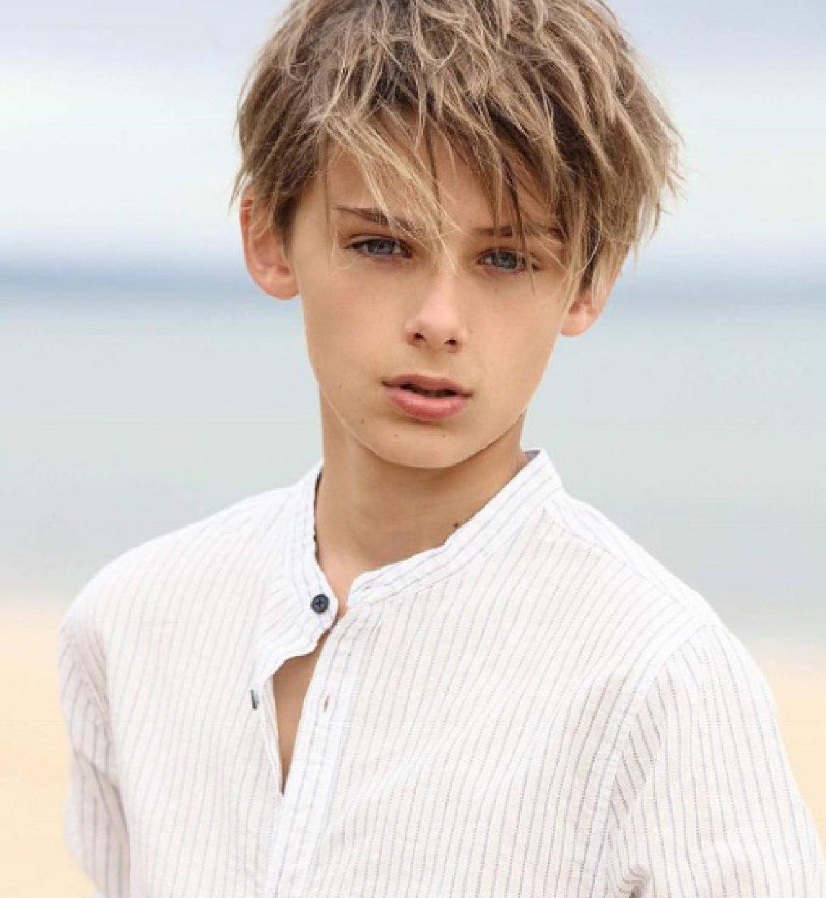 Фотография мальчика красивого