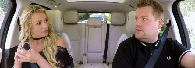 Así fue el Carpool Karaoke de Britney Spears!