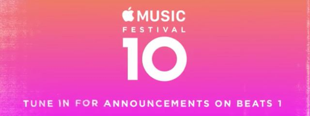 Apple Music Featival 2016