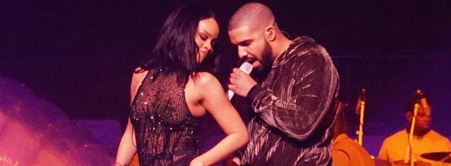 Rihanna y Drake finalmente se besaron!