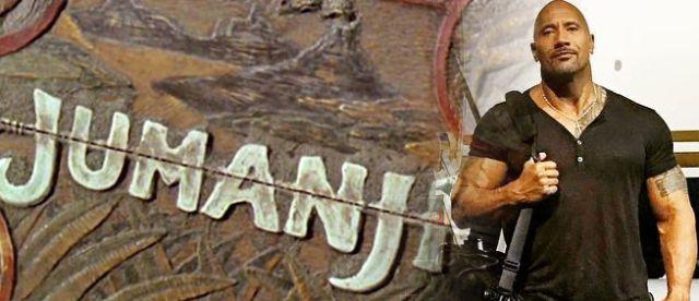 The Rock anticipa la remake de Jumanji