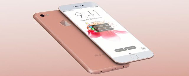 Un iPhone 7 en el microondas