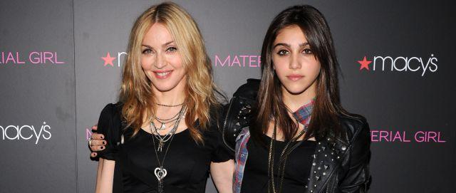 ¿La hija de Madonna mostró de más?