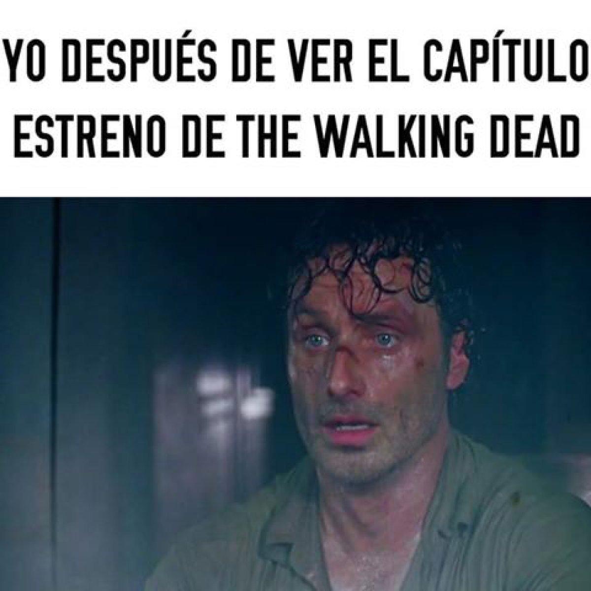 Los memes del arranque de la 7ma temporada de #TheWalkingDead