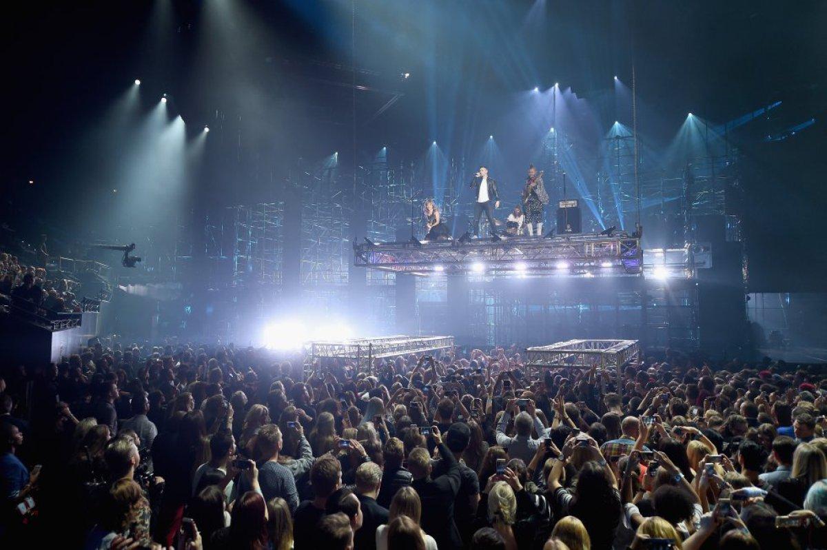 Joe Jonas y los DNCE armaron un set increíble