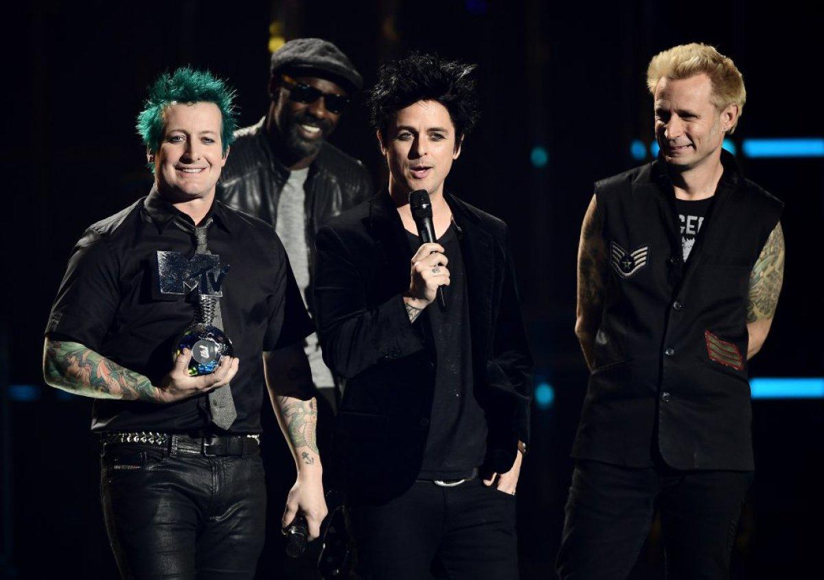 Green Day recibió un premio a su trayectoria