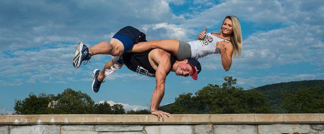 La pareja que hace fitness en Instagram!