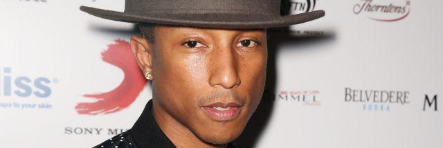 Seguro no sabías que Pharrel Williams compuso estos éxitos!