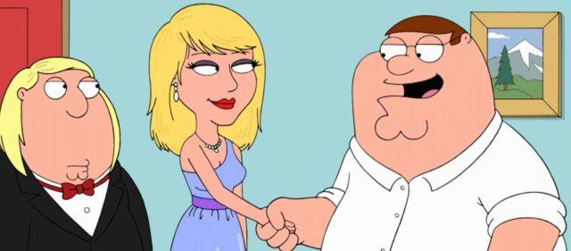 Taylor Swift en Family Guy!
