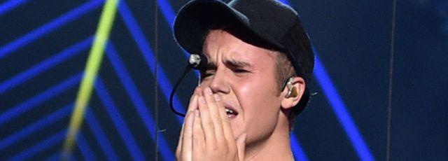 ¿Por qué Justin Bieber lloró arriba del escenario?