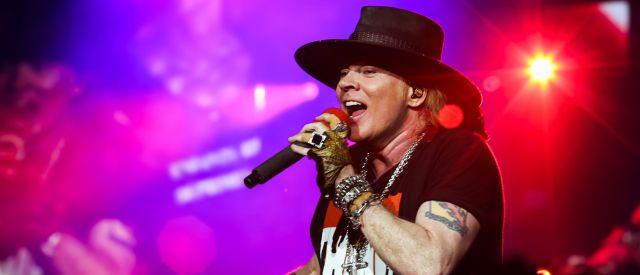 ¿Un fantasma en el show de Guns N' Roses?