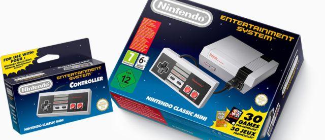 ¡Llegó el NES Classic Mini!