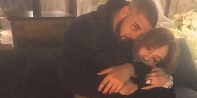Jennifer López y Drake