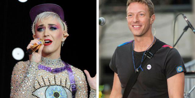 Katy Perry & Chris Martin