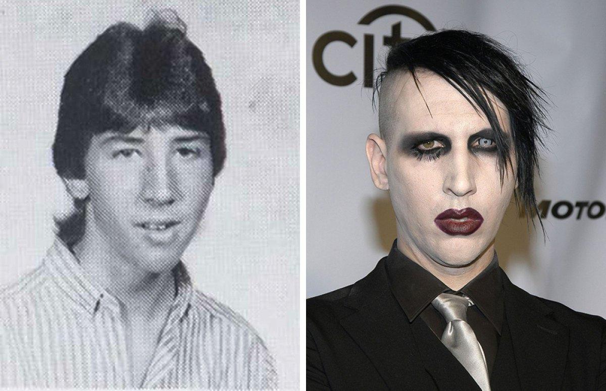 Así eran los famosos antes de ser celebridades