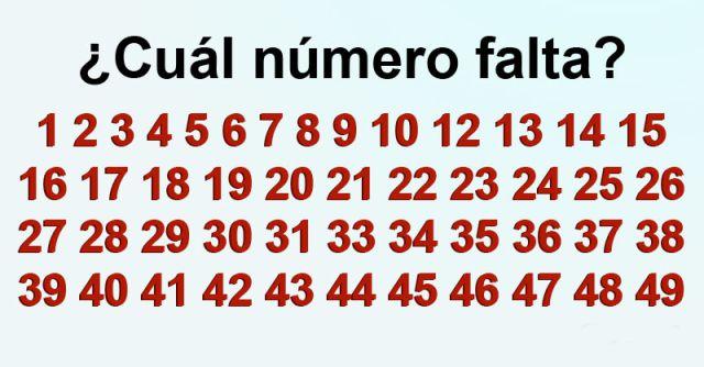 Test Números