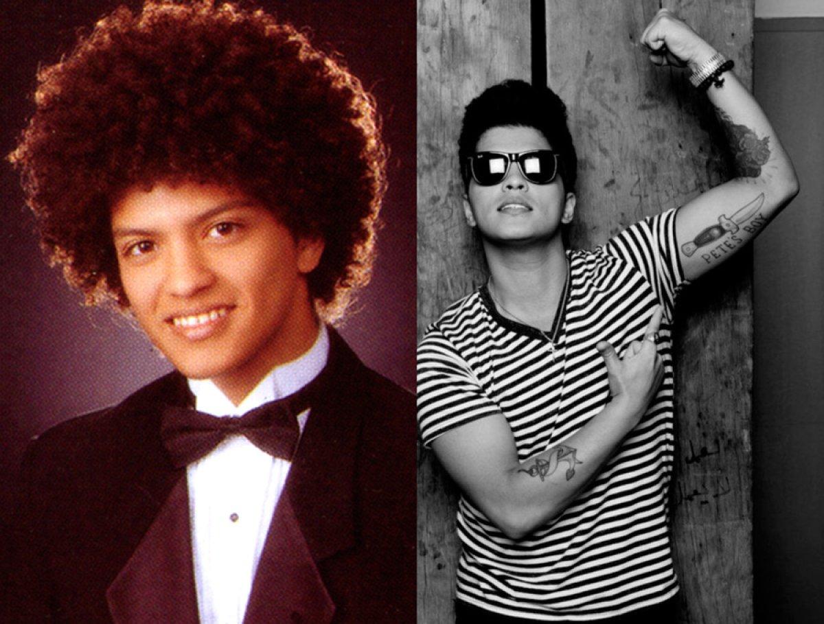 Así eran estos famosos durante su adolescencia