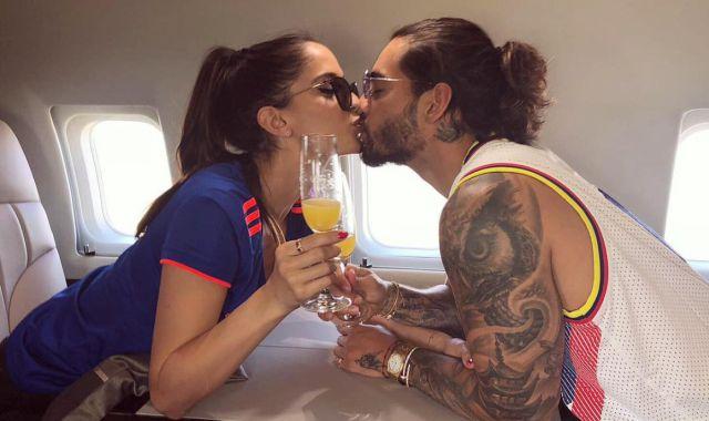Maluma & Natalia Barulich