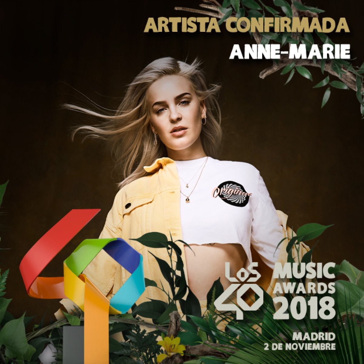¡Estos son los shows confirmados para LOS40 Music Awards!