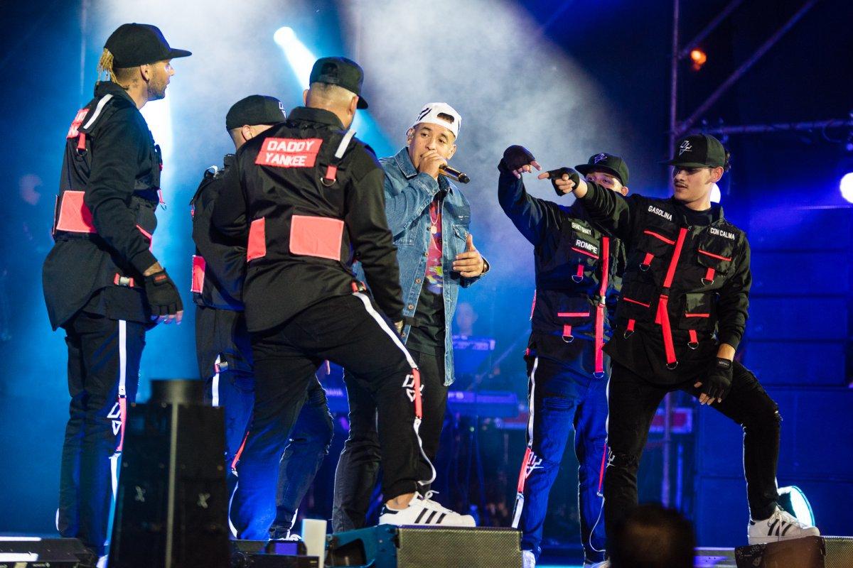 ¡Daddy Yankee llegó a la Argentina!