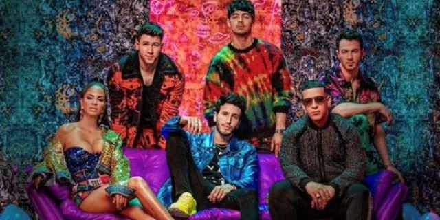 Los Jonas Brothers, Daddy Yankee, Sebastián Yatra y Natti Natasha