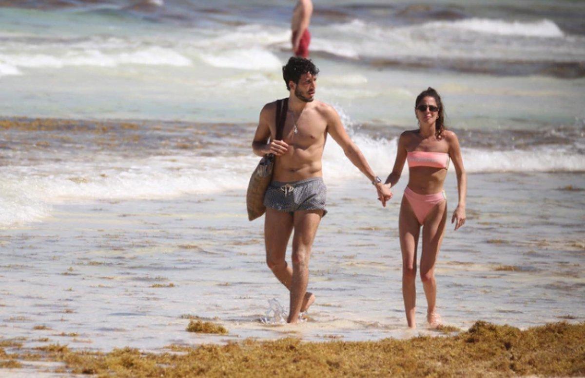 Las mejores fotos de las vacaciones de Tini y Sebastián Yatra